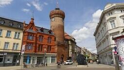Cottbus (niedersorbisch Chóśebuz) - Stadtansicht