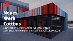 Spatenstich-Veranstaltung für das Infozentrum der Stadt Cottbus/Chóśebuz auf dem Bahnhofsvorplatz