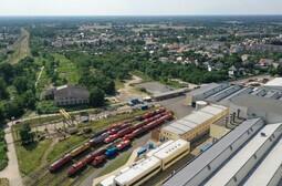 DB Fahrzeuginstandhaltung Cottbus - Luftaufnahme