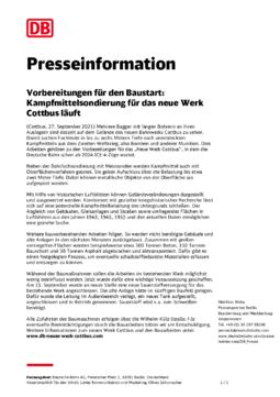 Presserundgang 27.09.2021 Presseinformation