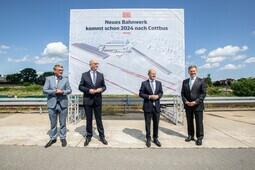 Neues Bahnwerk in Cottbus: Vorstellung der nächsten Schritte